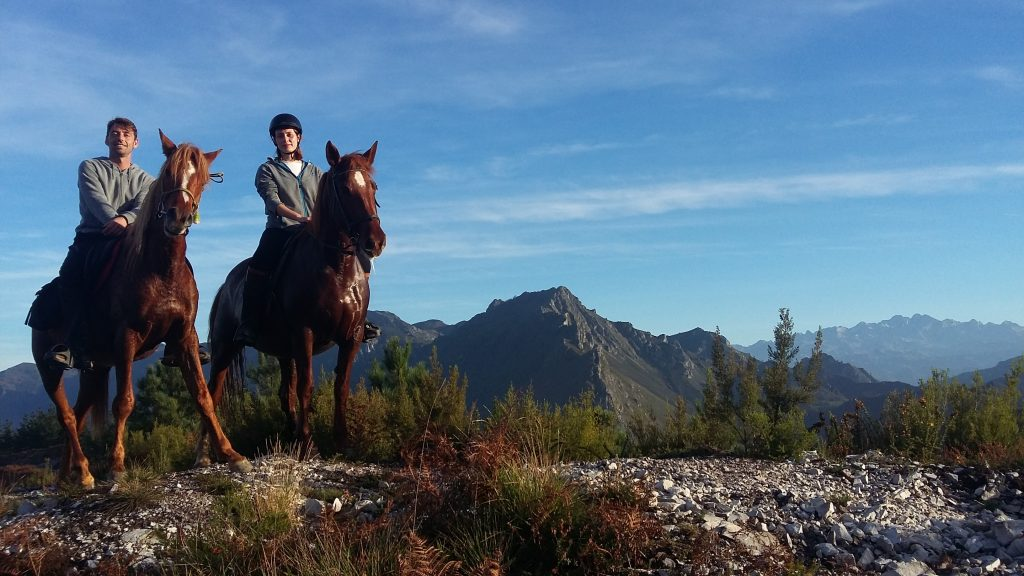 excursiones largas a caballo Asturias